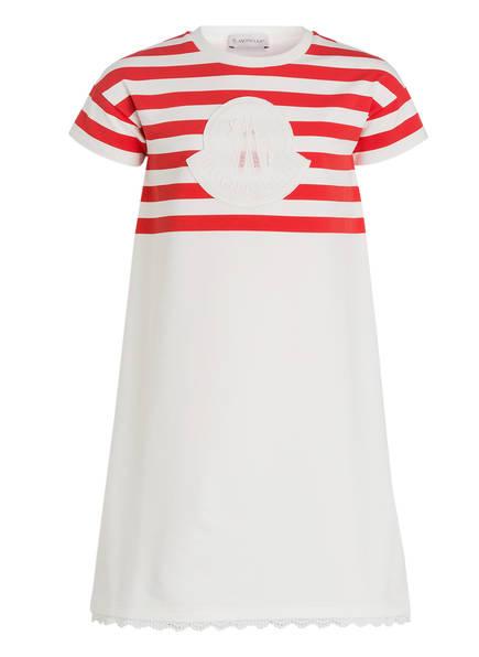MONCLER Kleid, Farbe: WEISS/ ROT (Bild 1)