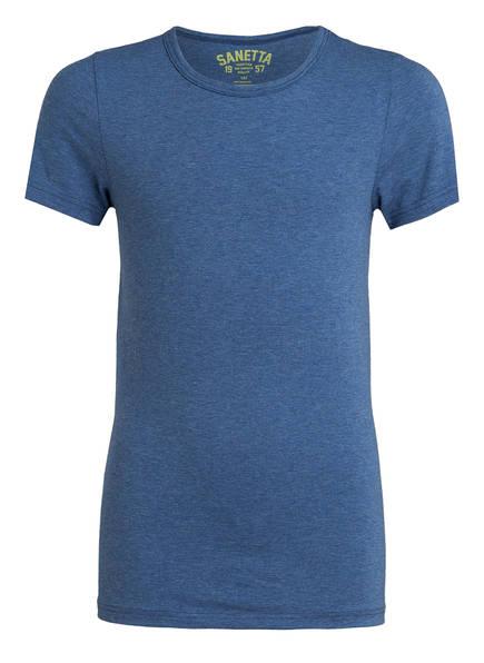 Sanetta T-Shirt, Farbe: BLAU MELIERT (Bild 1)