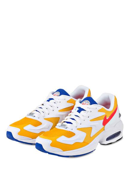 Nike Sneaker AIR MAX2 LIGHT, Farbe: GELB/ WEISS/ BLAU (Bild 1)