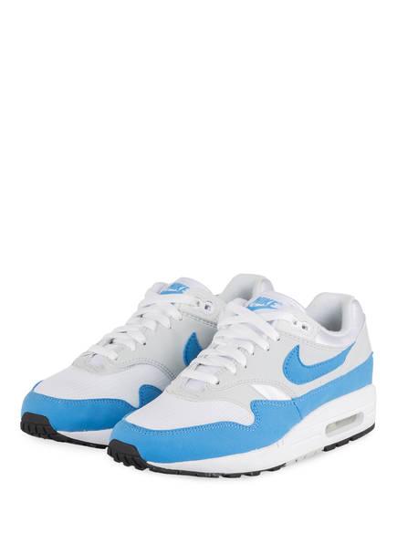 Nike Sneaker AIR MAX 1 ESSENTIAL, Farbe: WEISS/ HELLBLAU (Bild 1)