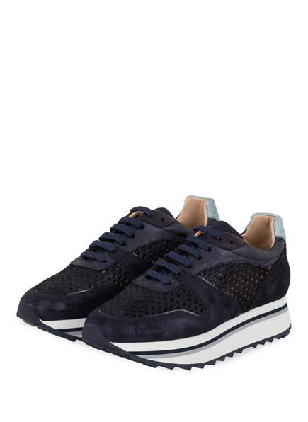Pertini Plateau-Sneaker, Farbe: DUNKELBLAU (Bild 1)