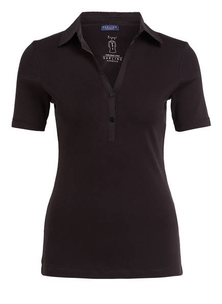 DARLING HARBOUR Poloshirt , Farbe: SCHWARZ (Bild 1)
