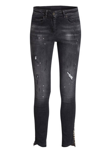 MARC AUREL Jeans Slim Fit, Farbe: GREY DENIM VARIED (Bild 1)