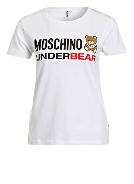 MOSCHINO Lounge-Shirt, Farbe: WEISS (Bild 1)