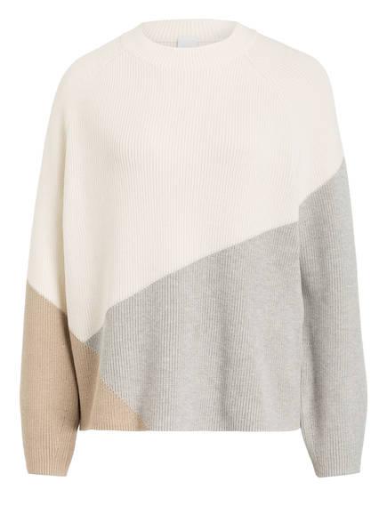 BOSS Pullover WALUNA, Farbe: WEISS/ GRAU (Bild 1)