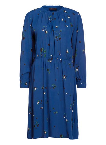 FREEQUENT Kleid SILJA, Farbe: BLAU GEMUSTERT (Bild 1)