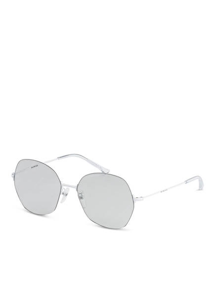 BALENCIAGA Sonnenbrille BB0014S, Farbe: 006 - WEISS/ SILBER (Bild 1)