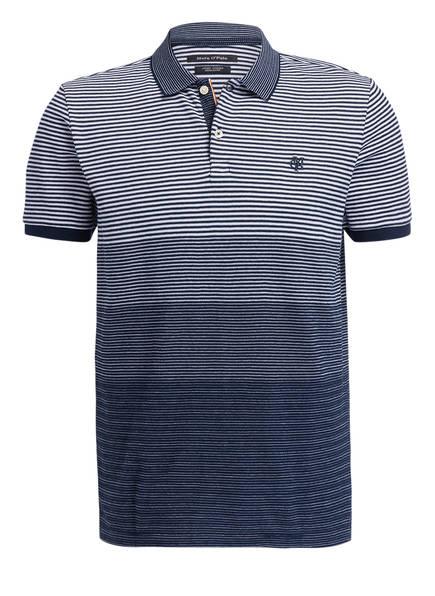 Marc O'Polo Poloshirt Regular Fit, Farbe: DUNKELBLAU/ WEISS GESTREIFT (Bild 1)
