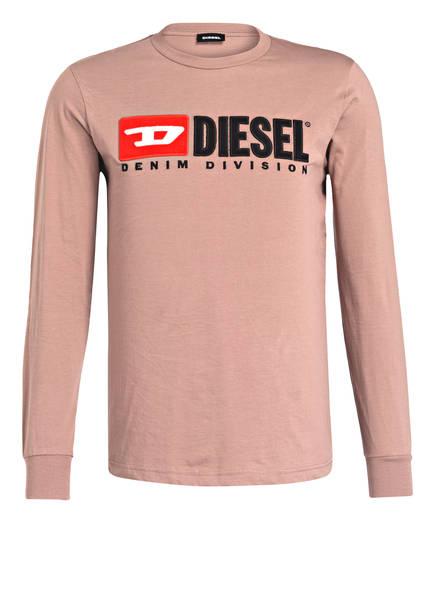 DIESEL Langarmshirt, Farbe: ROSÉ (Bild 1)