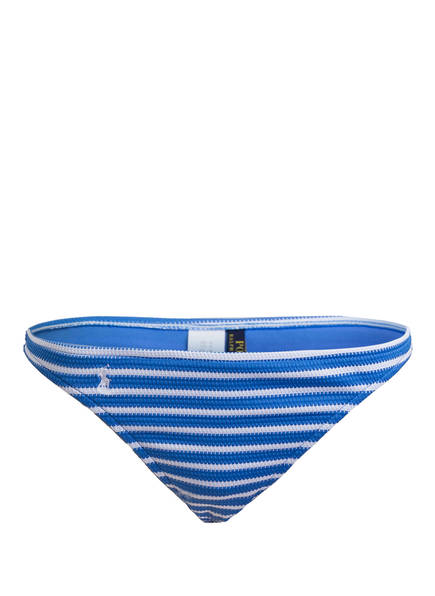 POLO RALPH LAUREN Bikini-Hose, Farbe: BLAU/ WEISS (Bild 1)