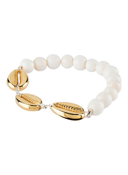WALD Armband NEVER TOO MUCH , Farbe: GOLD/ WEISS (Bild 1)