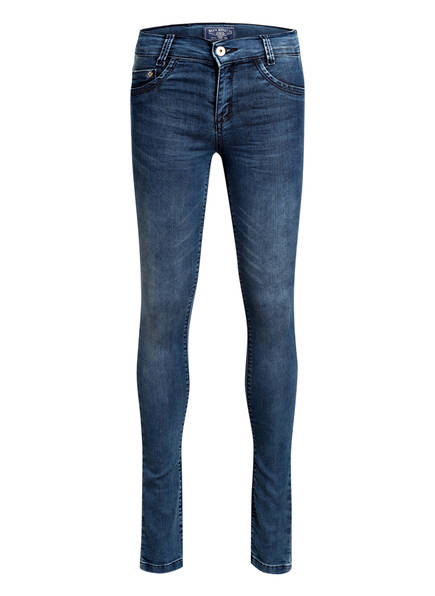 BLUE EFFECT Jeans, Farbe: MEDIUM BLUE DENIM (Bild 1)