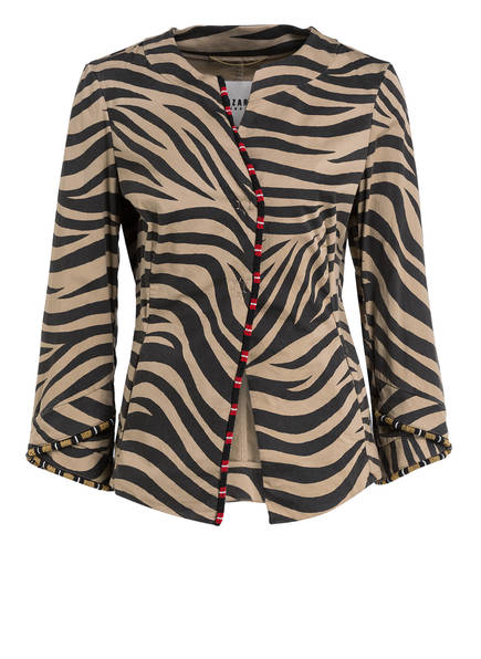BAZAR deluxe Jacke, Farbe: CAMEL/ SCHWARZ (Bild 1)
