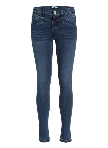 name it Jeans Skinny Fit, Farbe: DARK BLUE DENIM (Bild 1)