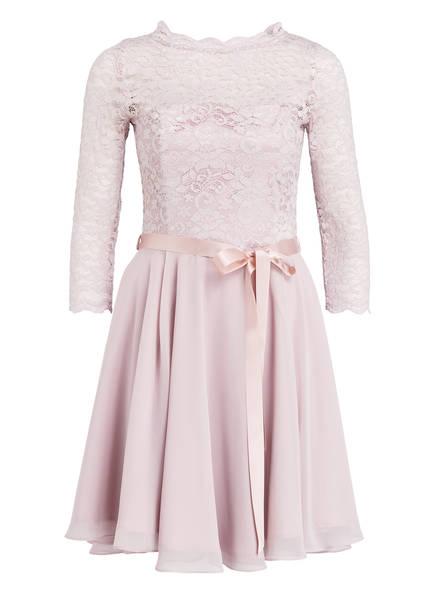 SWING Kleid mit Spitzenbesatz, Farbe: HELLROSA (Bild 1)
