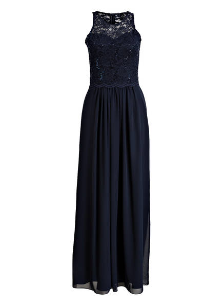 SWING Abendkleid, Farbe: MARINE (Bild 1)