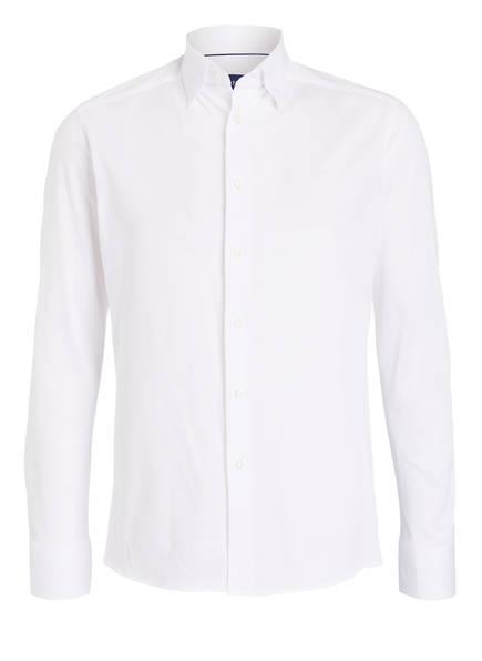 ETON Piqué-Hemd Regular Fit, Farbe: WEISS (Bild 1)