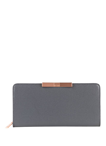 TED BAKER Geldbörse FLOW, Farbe: DUNKELGRAU (Bild 1)