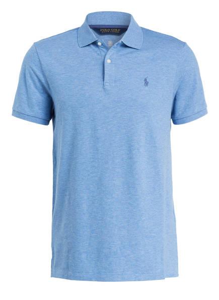 POLO GOLF RALPH LAUREN Piqué-Poloshirt Custom Fit, Farbe: BLAU (Bild 1)