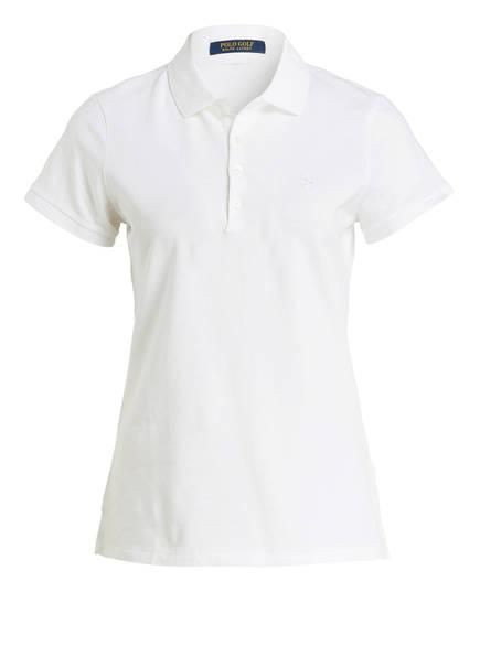 POLO GOLF RALPH LAUREN Piqué-Poloshirt, Farbe: WEISS (Bild 1)
