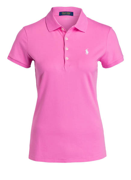 POLO GOLF RALPH LAUREN Piqué-Poloshirt, Farbe: PINK (Bild 1)