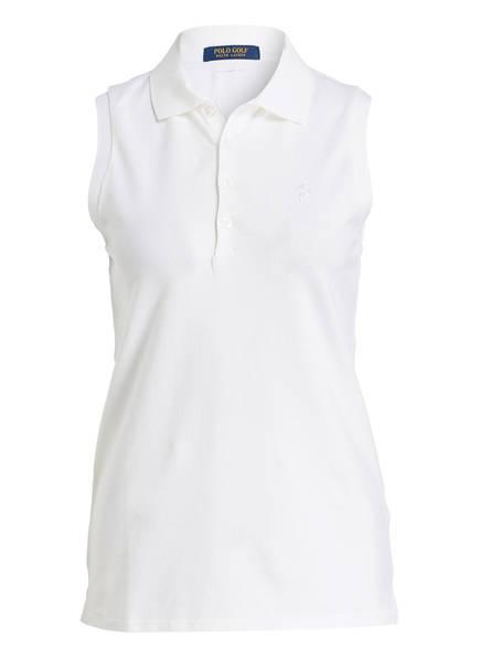 POLO GOLF RALPH LAUREN Piqué-Poloshirt , Farbe: WEISS (Bild 1)