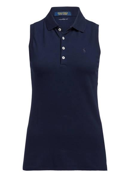 POLO GOLF RALPH LAUREN Piqué-Poloshirt , Farbe: NAVY (Bild 1)