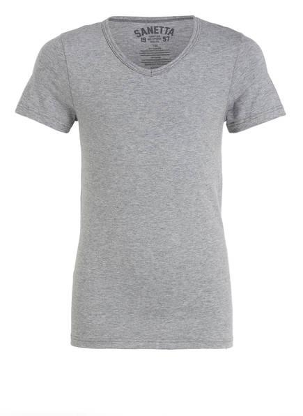 Sanetta Shirt , Farbe: GRAU MELIERT (Bild 1)