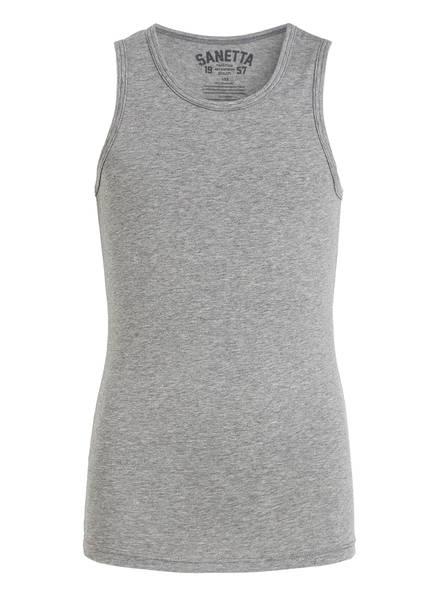 Sanetta Unterhemd, Farbe: GRAU MELIERT (Bild 1)