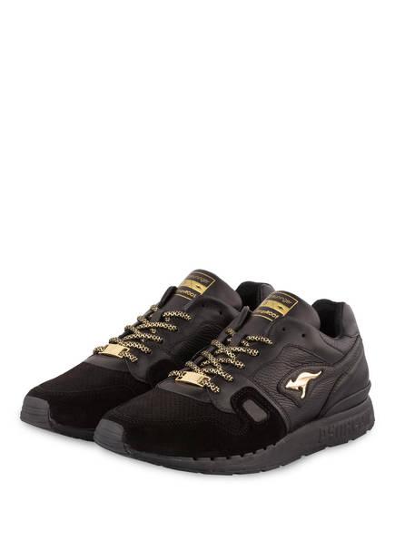 KangaROOS Sneaker TRIPLE BLACK, Farbe: SCHWARZ/ GOLD (Bild 1)