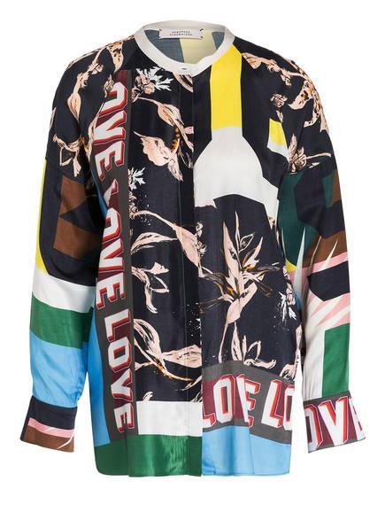 DOROTHEE SCHUMACHER Bluse, Farbe: SCHWARZ/ WEISS/ BLAU (Bild 1)