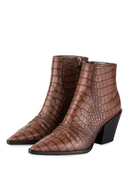 DOROTHEE SCHUMACHER Cowboy Boots CUBAN COOLNESS, Farbe: BRAUN (Bild 1)