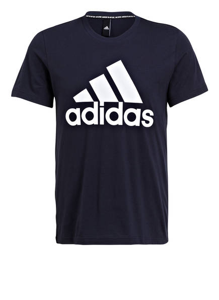 adidas T-Shirt BADGE OF SPORT, Farbe: NAVY/ WEISS (Bild 1)