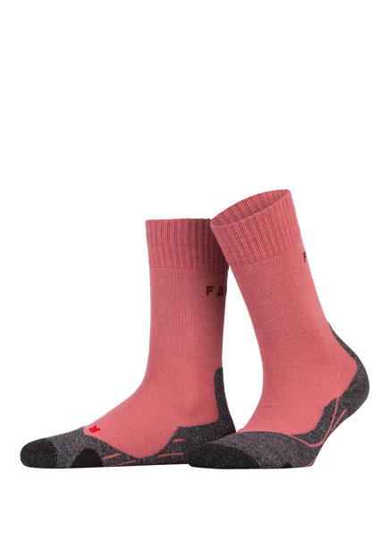 FALKE Trekking-Socken TK2 mit Merinowolle-Anteil, Farbe: 8215 MIXED BERRY (Bild 1)