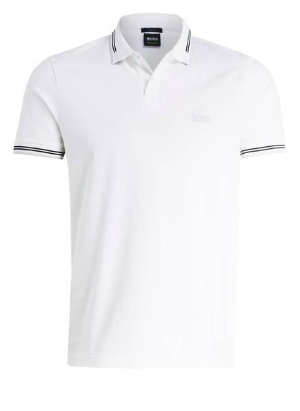 BOSS Piqué-Poloshirt PAUL Slim Fit, Farbe: WEISS (Bild 1)