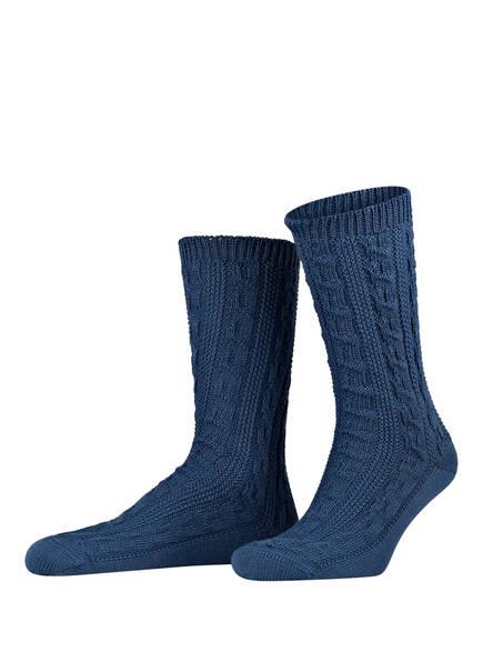 LUSANA Trachtensocken LUSANA, Farbe: 38 stahlblau (Bild 1)