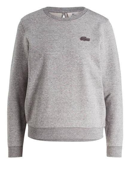 LACOSTE L!VE Sweatshirt , Farbe: GRAU MELIERT (Bild 1)