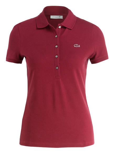LACOSTE Piqué-Poloshirt, Farbe: BEERE (Bild 1)