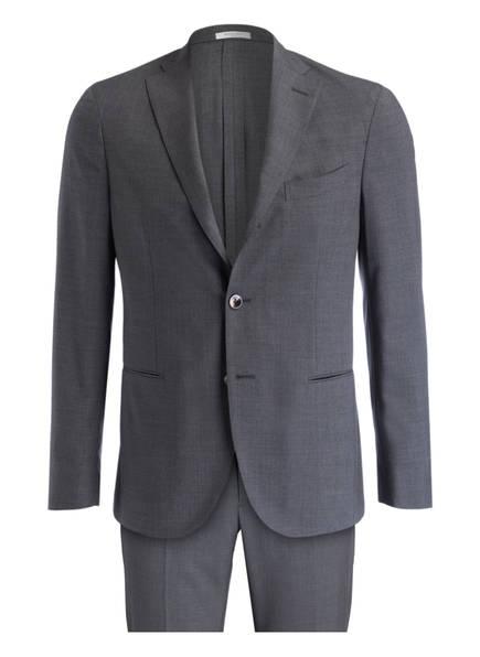 BOGLIOLI Anzug Slim Fit, Farbe: GRAU MELIERT (Bild 1)