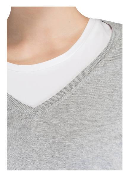 Meliert Pullover Meliert Pullover Repeat Repeat Grau Grau Z7x5wqnd