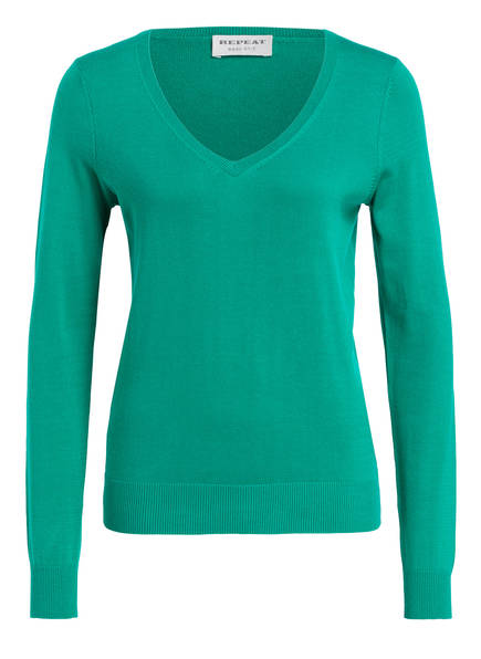 REPEAT Pullover, Farbe: GRÜN (Bild 1)