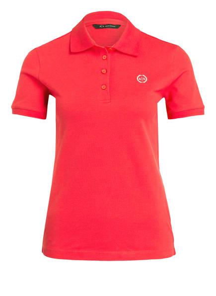 ARMANI EXCHANGE Piqué-Poloshirt, Farbe: PINK (Bild 1)