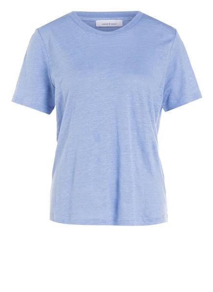 SAMSØE & SAMSØE T-Shirt AGNES, Farbe: HELLBLAU (Bild 1)