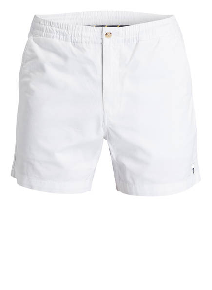 POLO RALPH LAUREN Chino-Shorts PREPSTER Classic Fit, Farbe: WEISS (Bild 1)