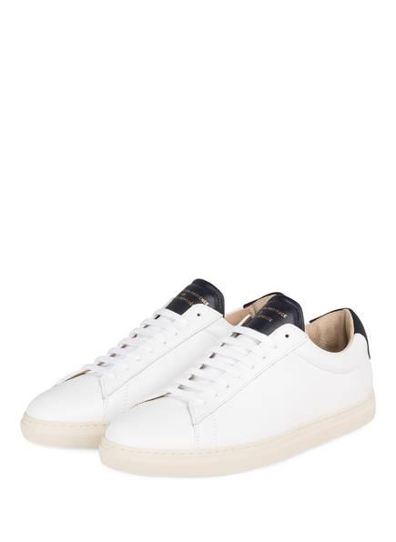 ZESPÀ, AIX-EN-PROVENCE Sneaker, Farbe: WEISS/ SCHWARZ (Bild 1)