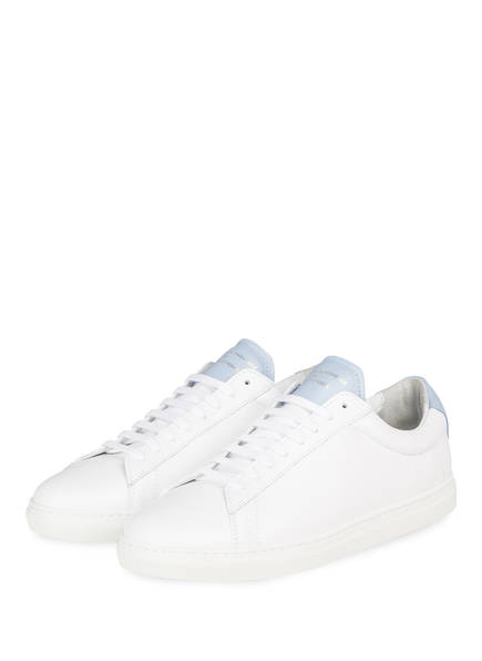 ZESPÀ, AIX-EN-PROVENCE Sneaker, Farbe: WEISS/ HELLBLAU (Bild 1)