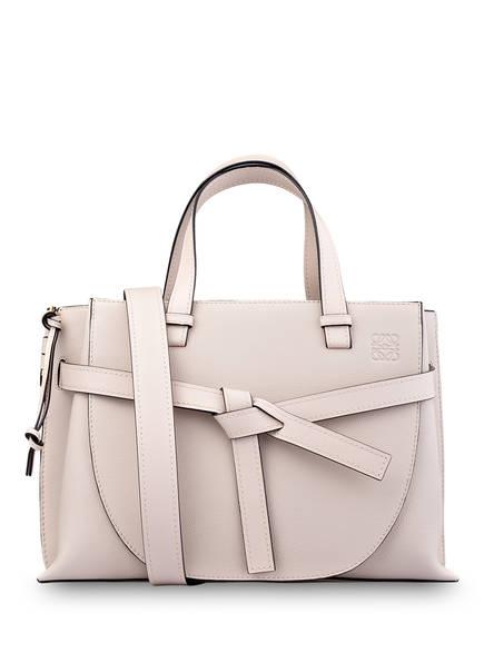 LOEWE Handtasche GATE TOP HANDLE, Farbe:  LIGHT OAT (Bild 1)