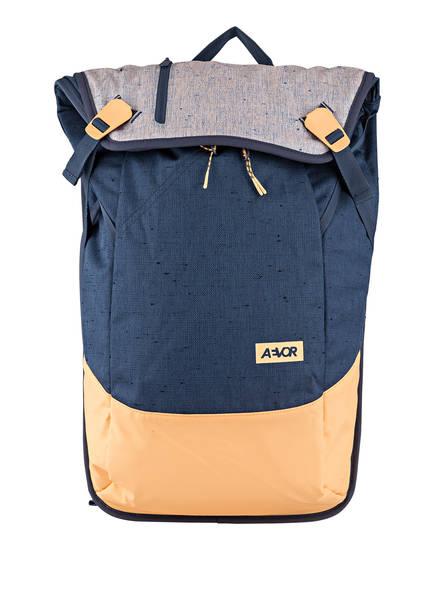 AEVOR Rucksack DAYPACK 18 l (erweiterbar auf 28 l) mit Laptop-Fach, Farbe: BLAU/ NUDE (Bild 1)