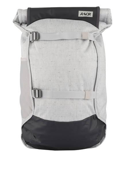 AEVOR Rucksack TRIP PACK mit Laptopfach 31 l (erweiterbar auf 33 l), Farbe: HELLGRAU MELIERT (Bild 1)