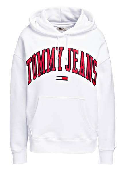 TOMMY JEANS Hoodie, Farbe: WHITE (Bild 1)